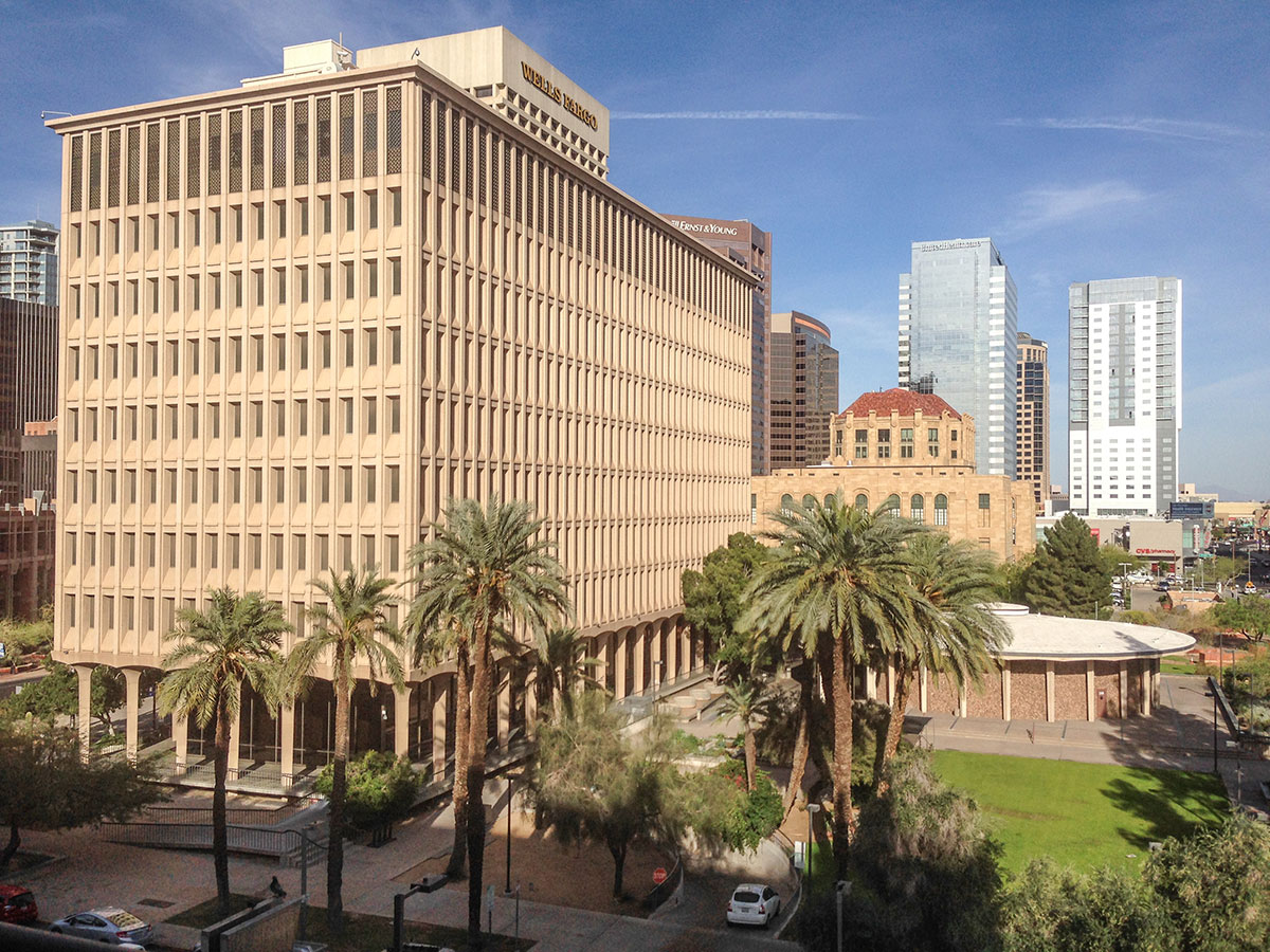 Phoenix Municipal Center aka Calvin C Goode Building by Haver and Varney