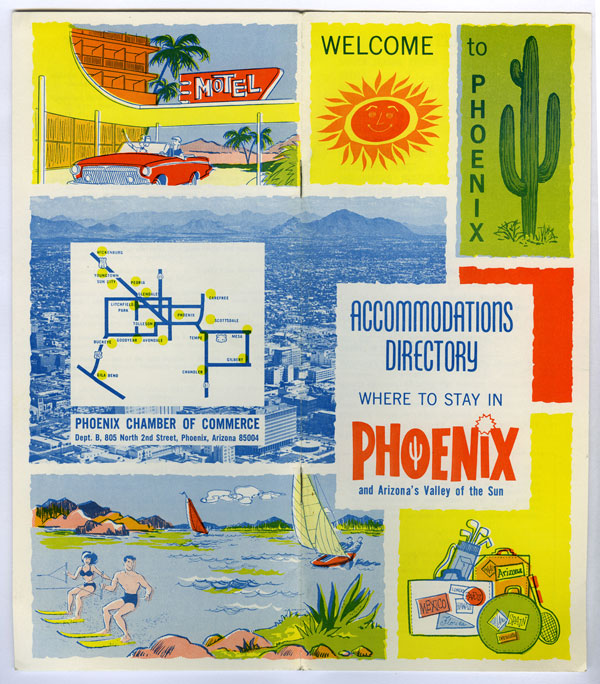 vintage Where to Stay in Phoenix brochure