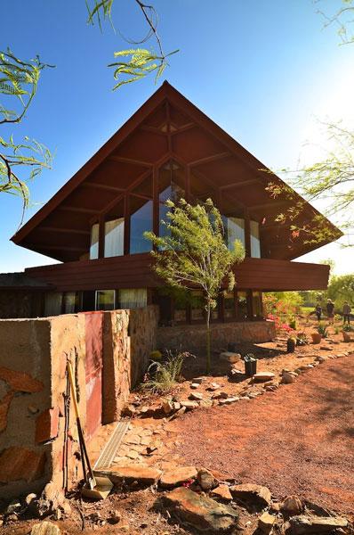 Frank Lloyd Wright Arizona >> Marion Estates: The Modern Phoenix Home Tour 2012