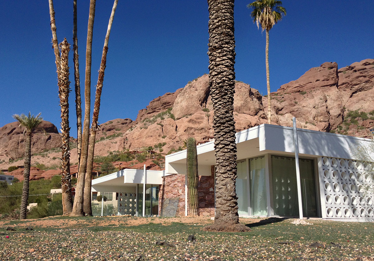 The Uhlmann House by Al Beadle in Phoenix Arizona