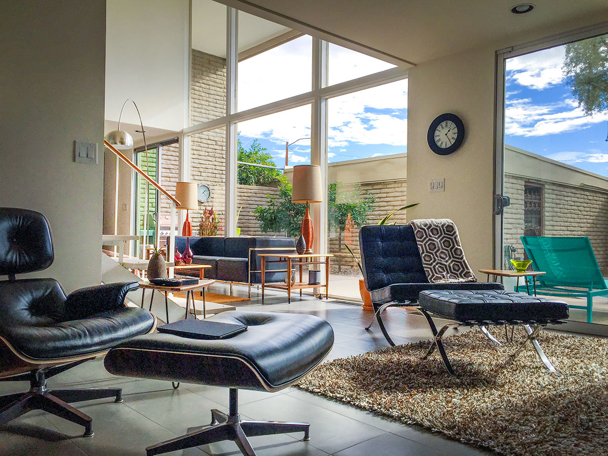 Gould & Hernandez Residence at Roman Roads  on the 2016 Modern Phoenix Home Tour