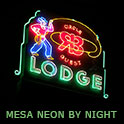 Neon in Mesa at Night