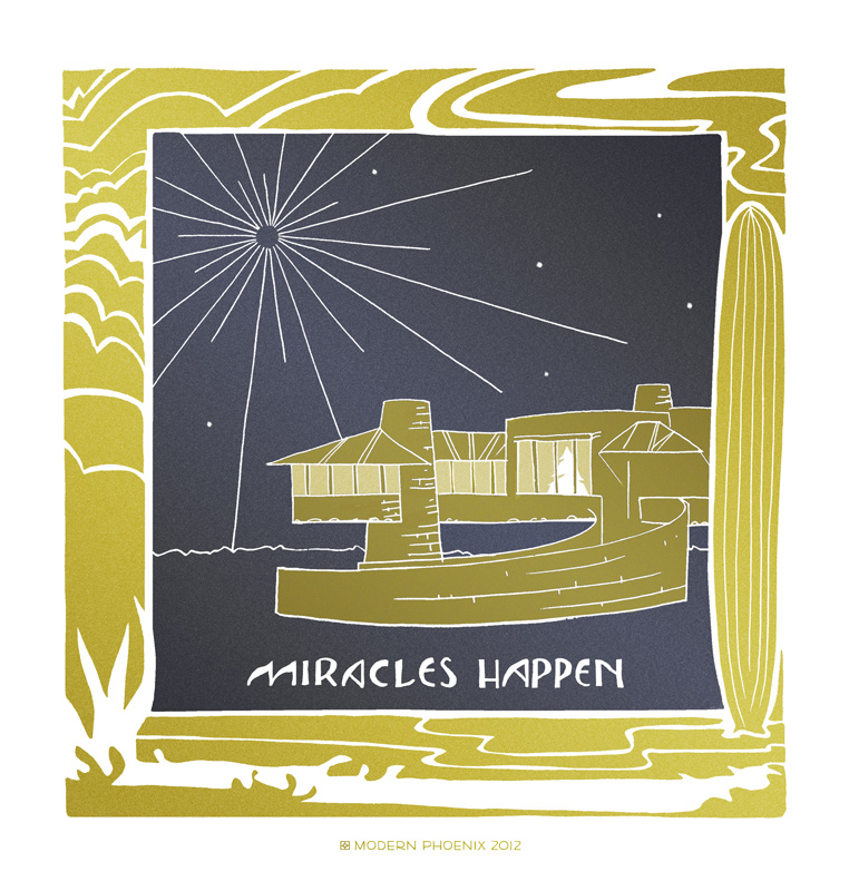 Miracles Happen by Alison King David Wright House Frank Lloyd Wright
