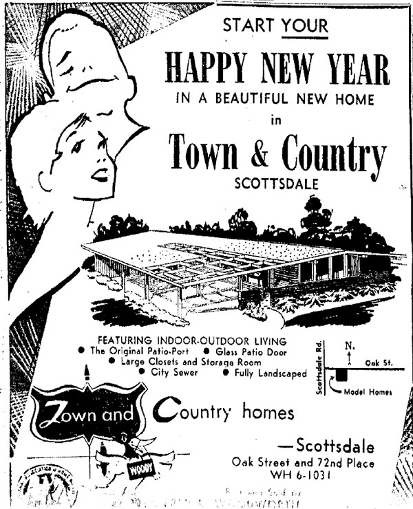 Vintage ad for Ralph Haver's Town and Country