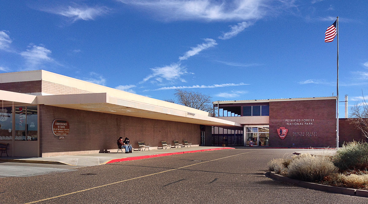 Painted Desert Visitor Center by Richard Neutra in Arizona