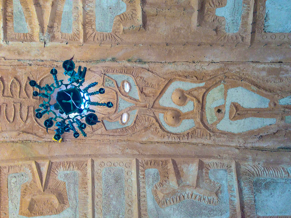 Relief at Cosanti