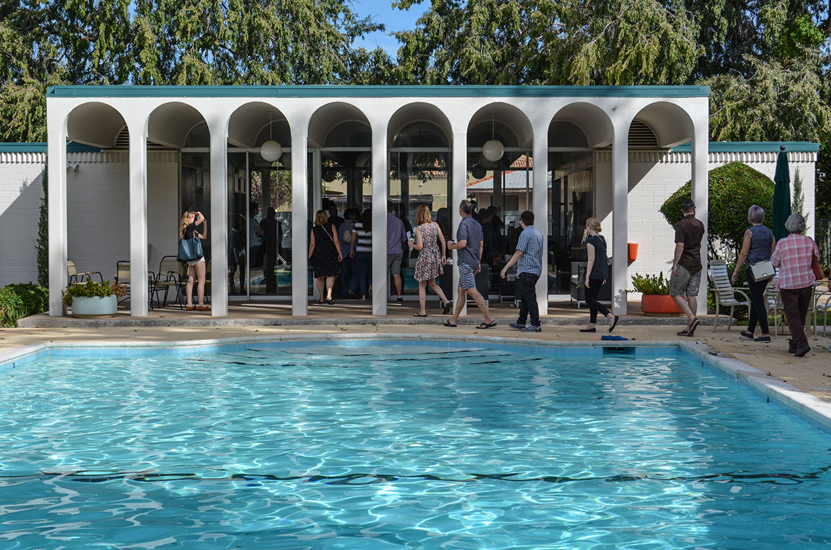 The Olympus by Chopas and Starkovich on Docomomo US Tour Day 2015