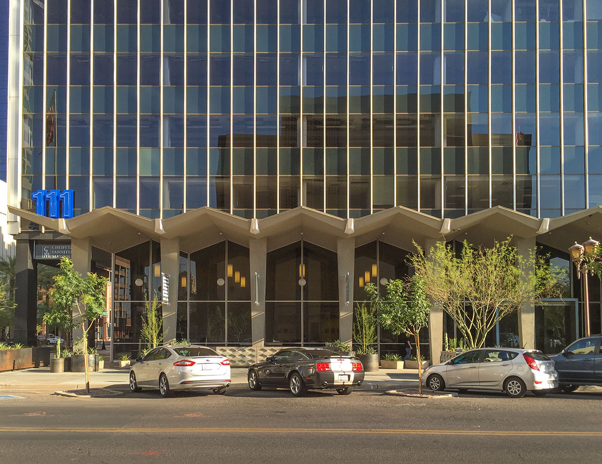 AZ Title and Trust Building aka the Monroe Building by Weaver and Drover